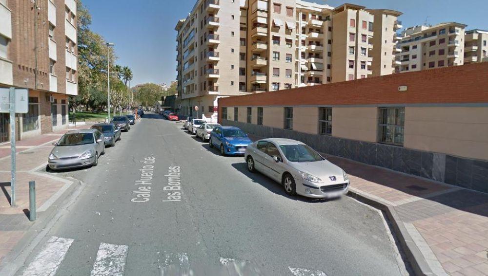 Un paso de peatones para la calle Huerto de las Bombas en Murcia