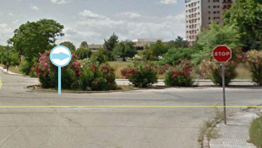 cruce de calles en 41013 sevilla