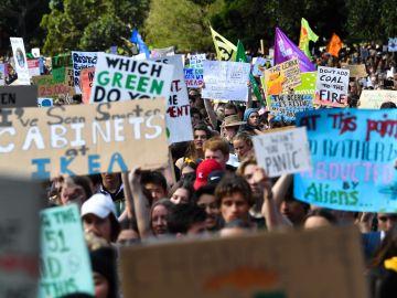 Protestas por el cambio climático