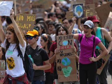 Horario y recorrido de la manifestación de la marcha por el clima el 6 de diciembre