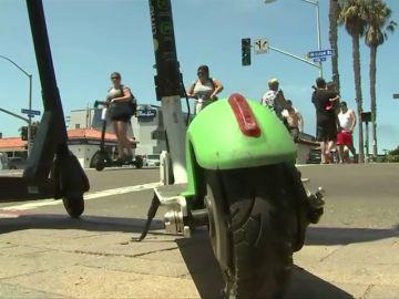 Los patinetes eléctricos de alquiler podrían no ser una alternativa a la movilidad sostenible