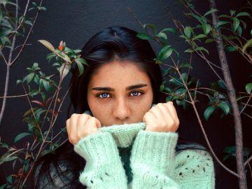 Imagen de ojos de mujer