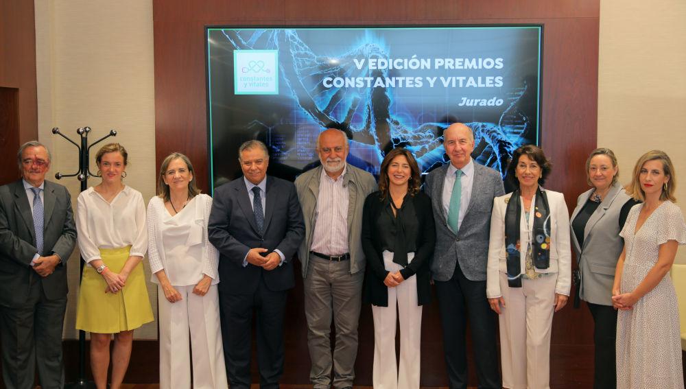 Reunión del jurado de la V edición de los Premios Constantes y Vitales