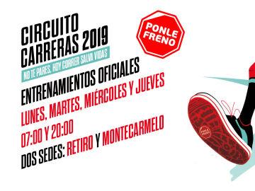 Entrenamientos oficiales de la Carrera Ponle Freno Madrid 2019