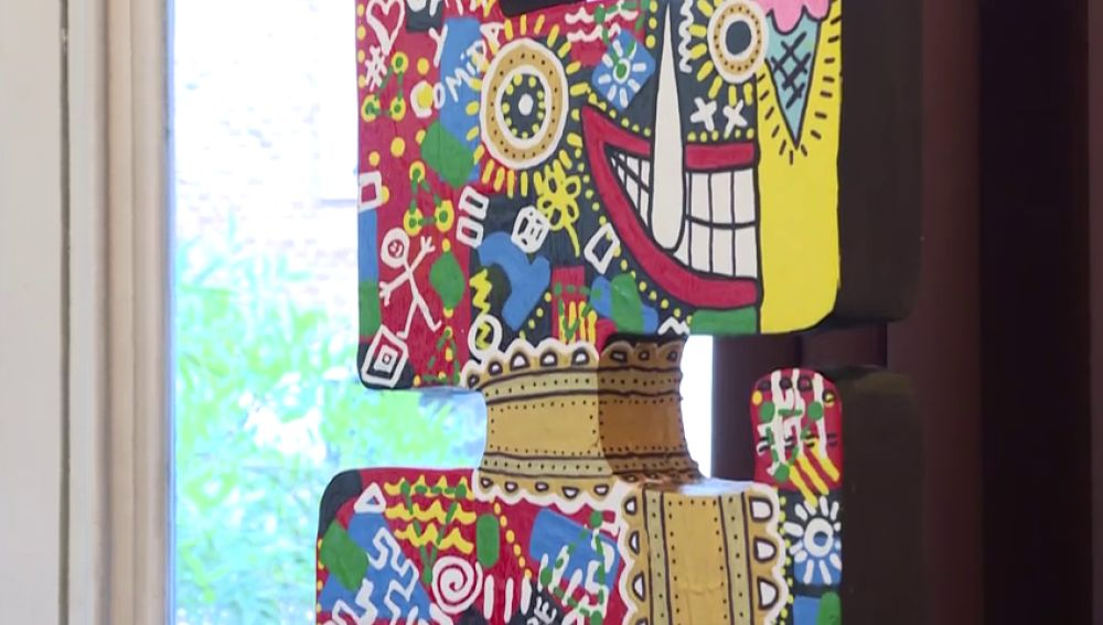 Obras de arte con material reciclado de la calle