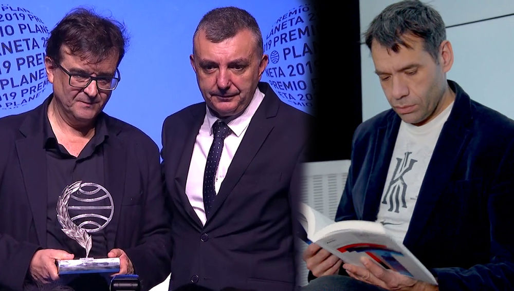 Javier Cercas, Manuel Vilas y Rubén Amón