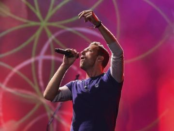 Chris Martin, líder de Coldplay