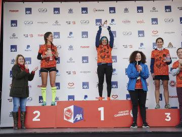 Las ganadoras de la categoría 5K
