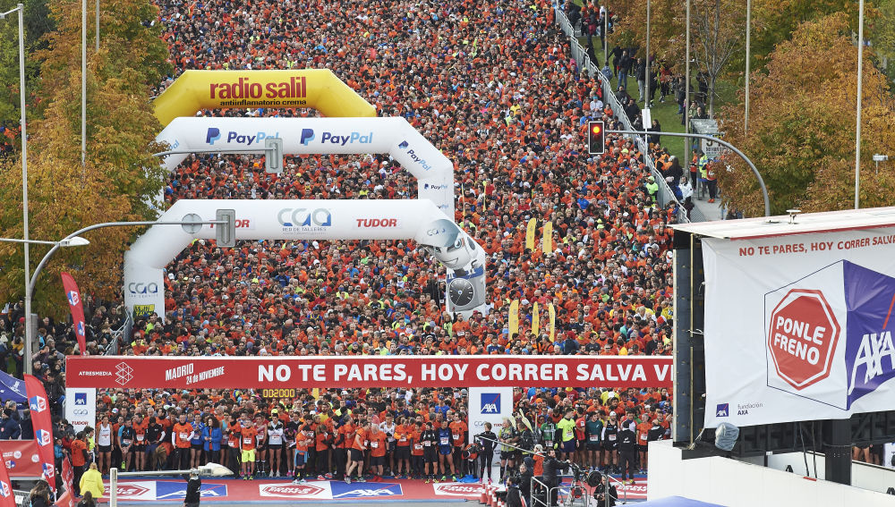 Carrera solidaria Ponle Freno