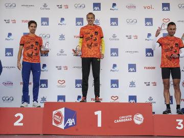 Los ganadores de la categoría de los 10 KM