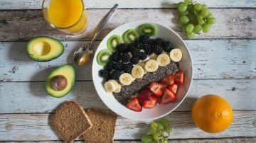 Desayuno rico en carbohidratos saludables