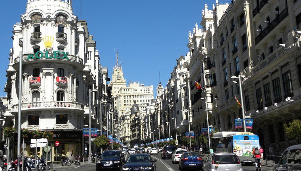 Tráfico en Madrid