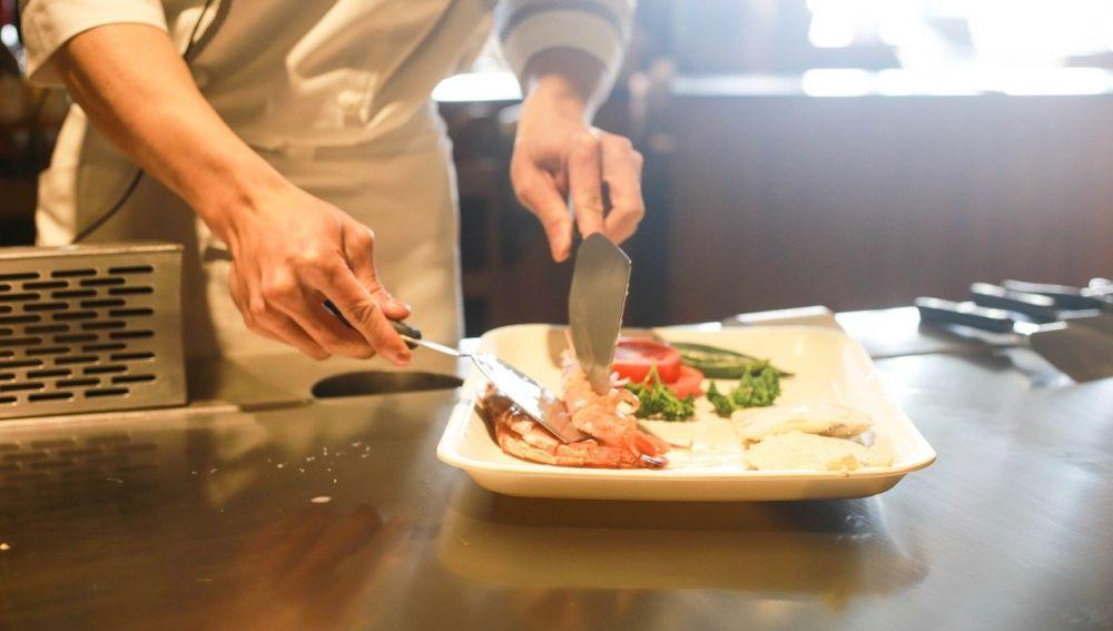 Cocinero de un restaurante