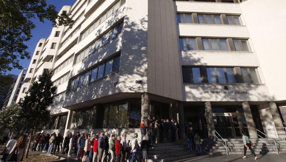 Juzgados de Plaza de Castilla, en Madrid