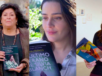 Almudena Grandes, Lorena Franco y Ana Merino