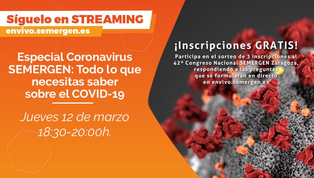Especial coronavirus SEMERGEN