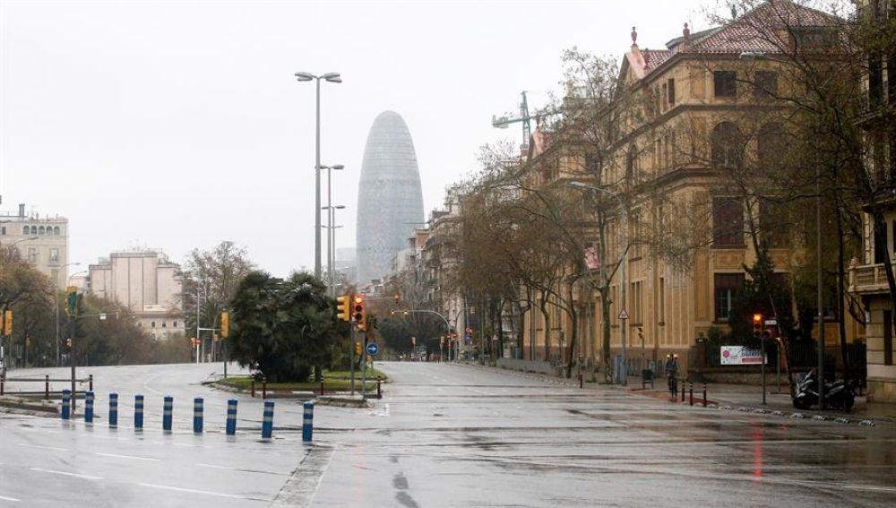 Avenida Diagonal de Barcelona.