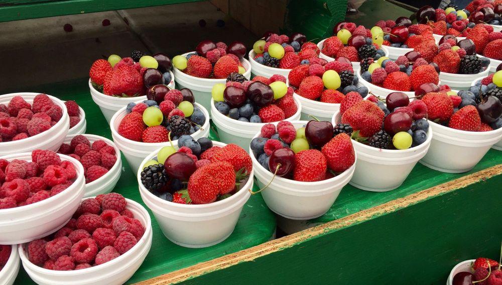 La fruta es uno de los alimentos más ricos en antioxidantes