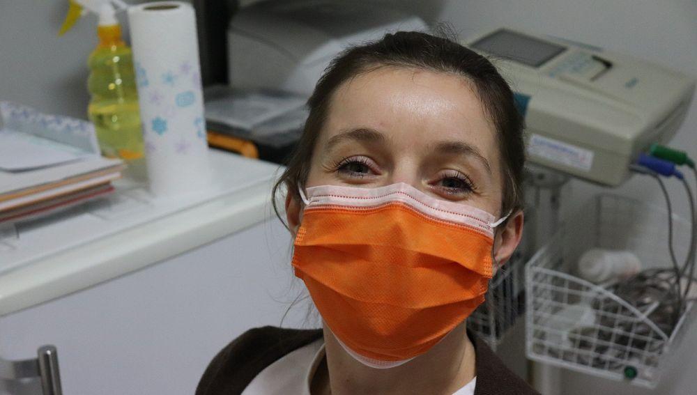 Uso de mascarilla quirúrgica