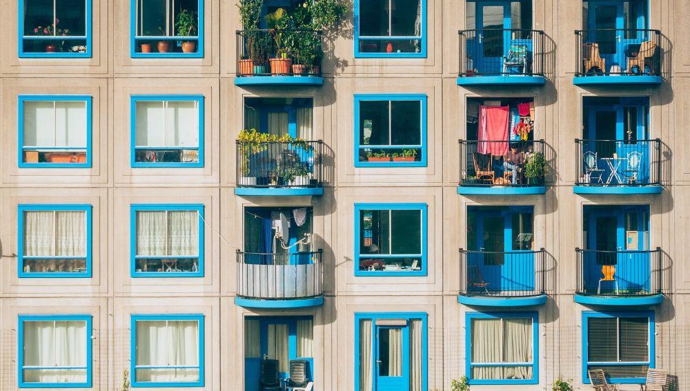 Coronavirus: La carrera en el balcón que se ha vuelto viral