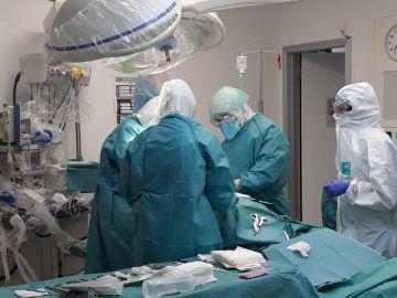 Quirófano en un Hospital de Málaga