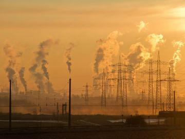 Emisiones de una fábrica