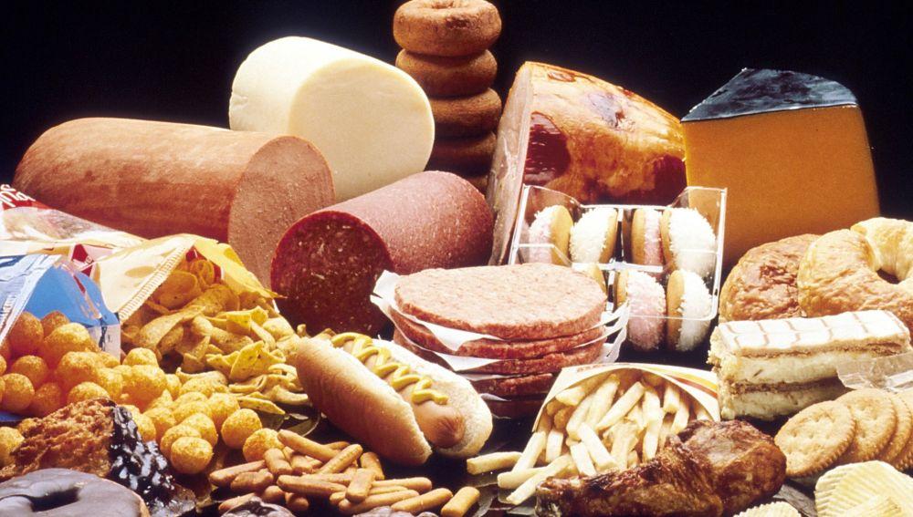 Alimentos ricos en grasas