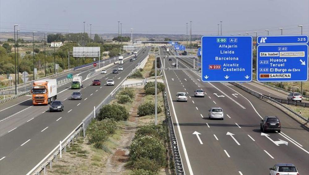 Las carreteras aragonesas retoman la normalidad