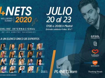 a PL4NETS, el summit solidario de hábitos saludables convocado por Pau Gasol