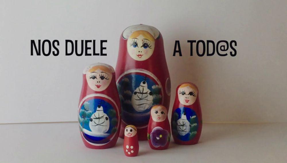 'No somos muñecas', Premio Especial 'Tolerancia Cero' del concurso 'Nos duele a todos' que organiza Fundación Mutua Madrileña