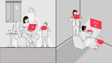 Guía para reducir el uso abusivo de las pantallas