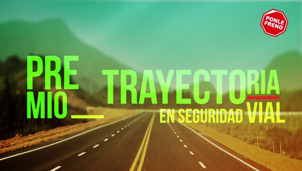 Premio Ponle Freno a la Trayectoria en Seguridad Vial: Antonio Rodríguez Núñez, sargento 1º de la agrupación de Tráfico de la Guardia Civil