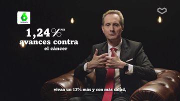 """Jesús García Foncillas: """"""""Invirtiendo solo un 1,24 % del PIB hemos conseguido alargar la vida en ratones con cáncer"""""""