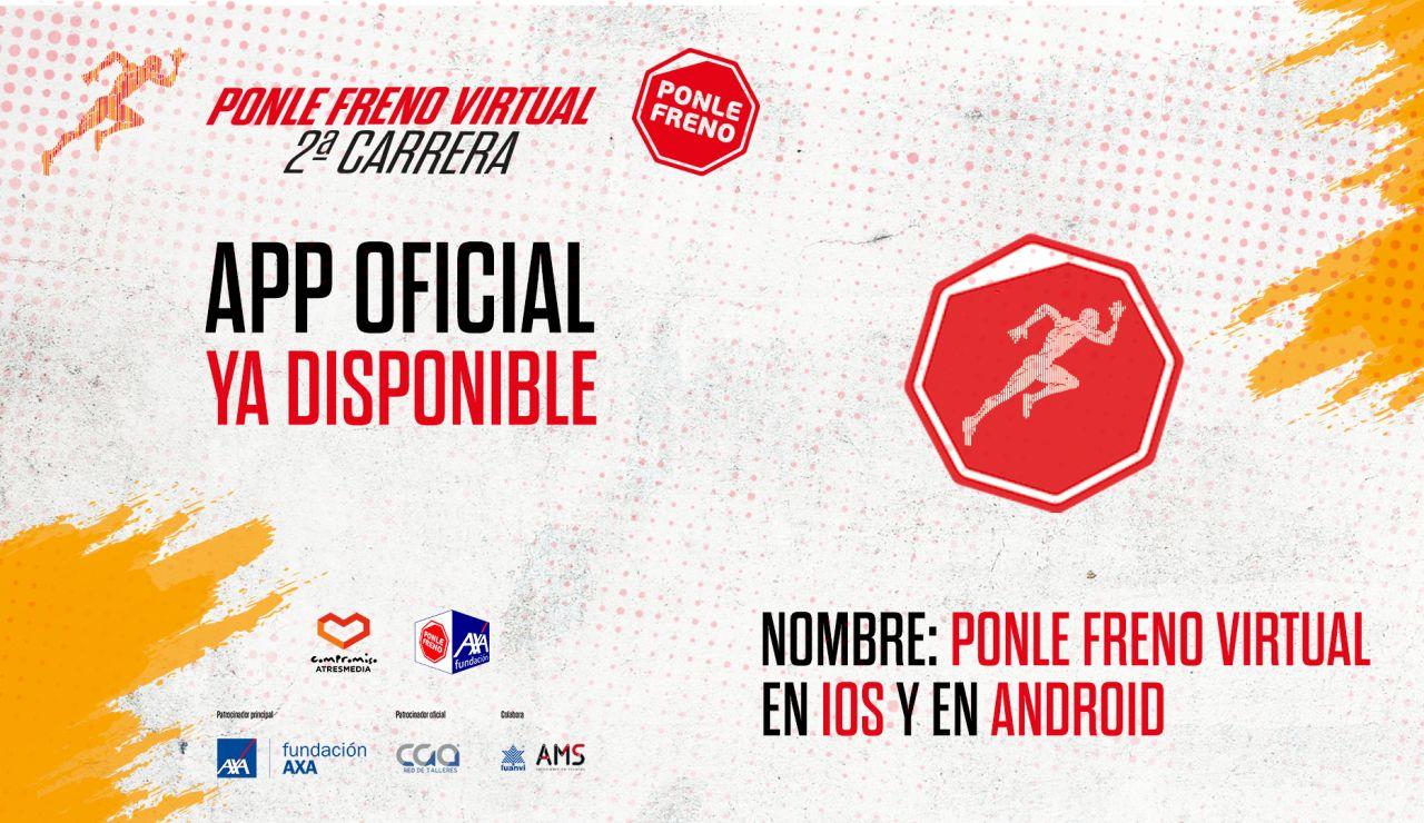 APP oficial de la Carrera Ponle Freno Virtual