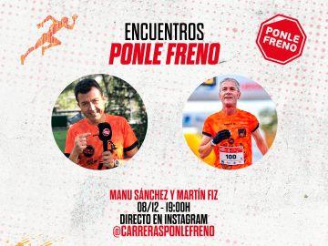 Directo Instagram con Manu Sánchez y Martín Fiz