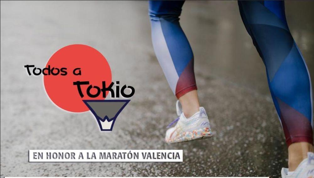 Reto Todos a Tokio en honor al Maratón de Valencia