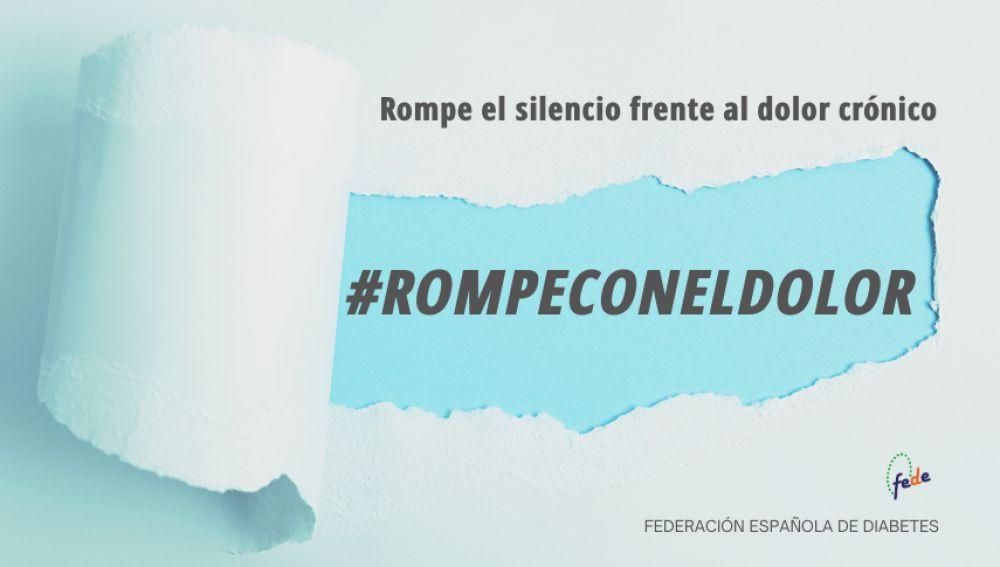 'Rompe con el dolor', la campaña de la Federación Española de Diabetes