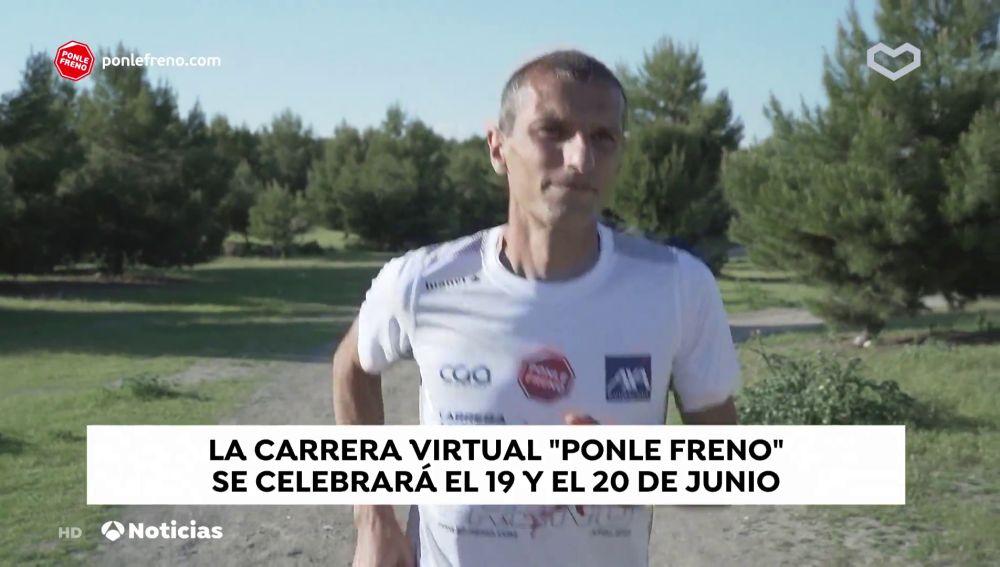 La 3ª edición de la carrera virtual Ponle Freno en Antena 3 Noticias