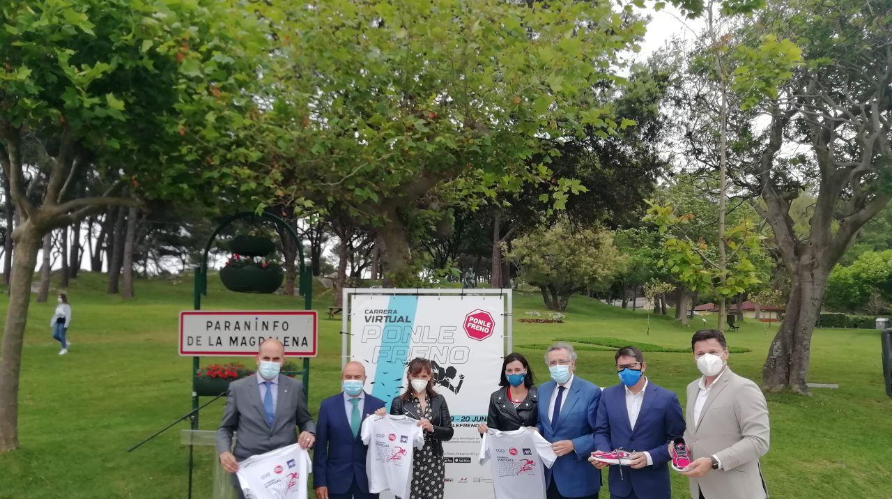 Ponle Freno presenta su Carrera Virtual en Santander