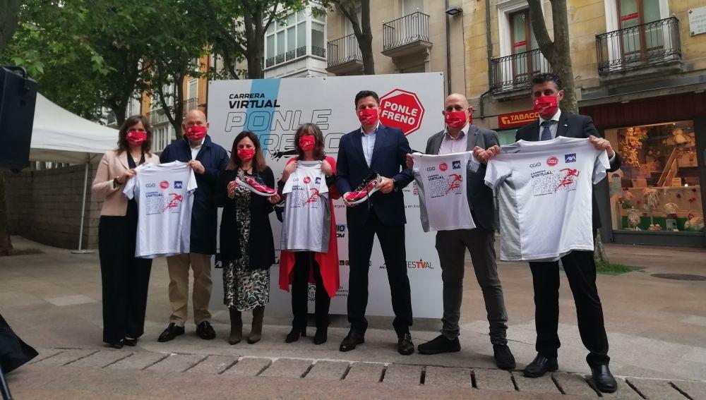 Presentación de la Carrera Virtual Ponle Freno en Vitoria