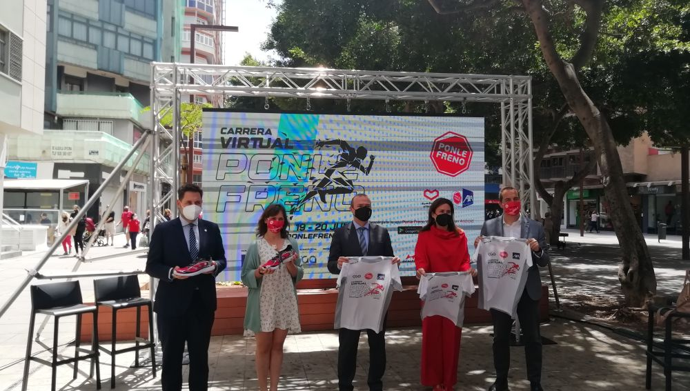 Presentamos la Carrera Virtual Ponle Freno en Las Palmas de Gran Canaria
