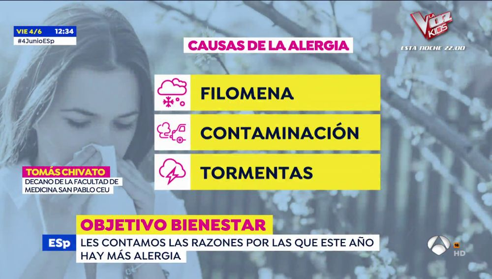 ¿Por qué este año está siendo especialmente malo para los alérgicos?