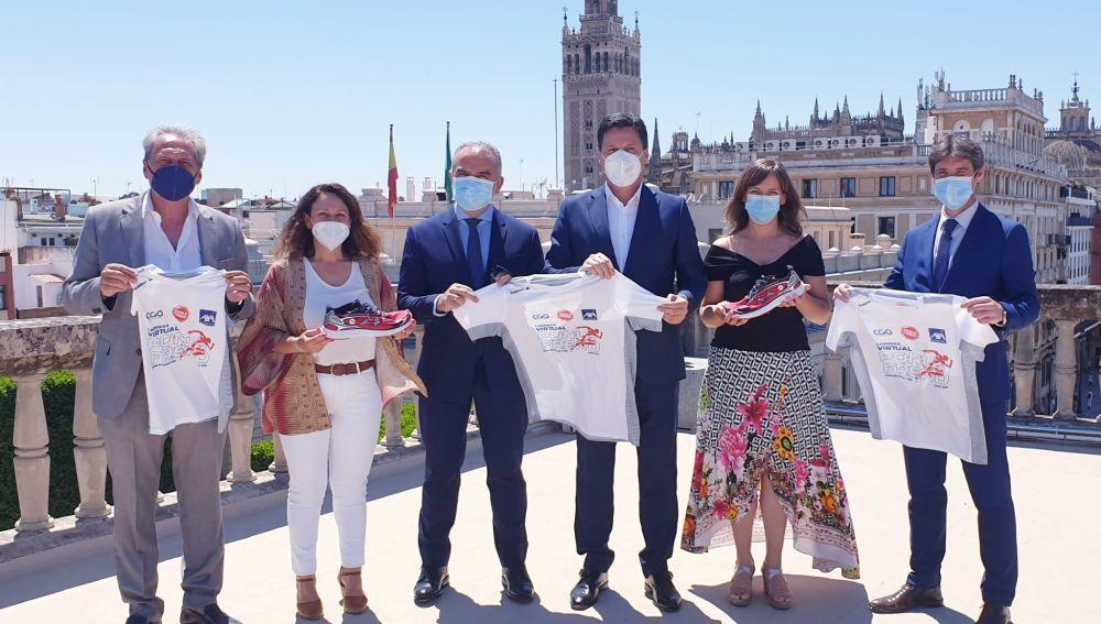 Presentación de la Carrera Virtual Ponle Freno 2021 en Sevilla   Ponle Freno
