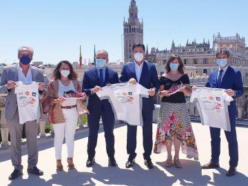 Presentación de la Carrera Virtual Ponle Freno 2021 en Sevilla | Ponle Freno