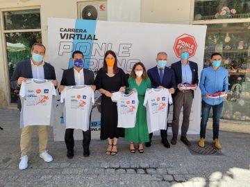 Ponle Freno presenta su Carrera Virtual en Málaga