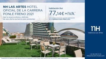 NH, hotel oficial de la Carrera Ponle Freno Valencia 2021