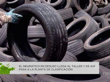 Qué sucede con los neumáticos que ya no usamos