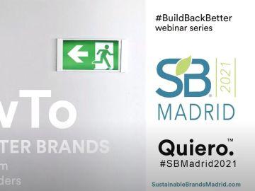 segunda sesión de Sustainable Brands® Madrid 2021