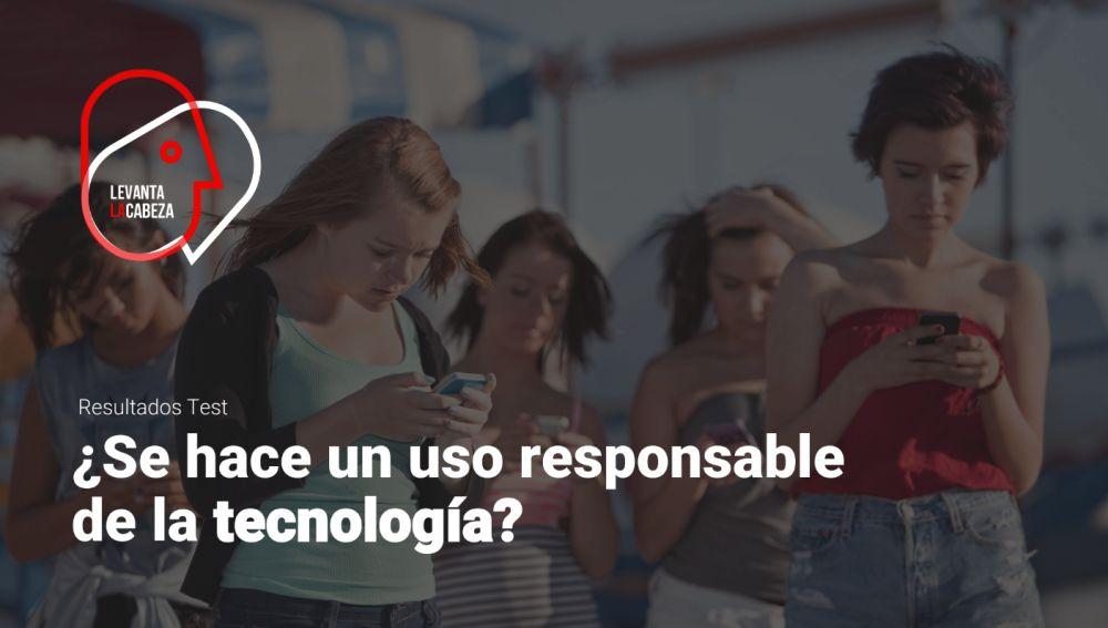 Portada del informe '¿Se hace un uso responsable de la tecnología'?