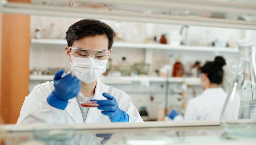 Científicos investigando en el laboratorio